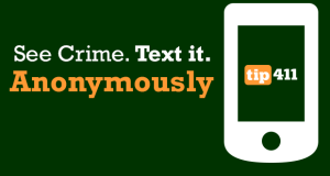 See Crime. Text It. ANONYMOUSLY