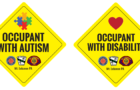 Disability Awareness Stickers now available